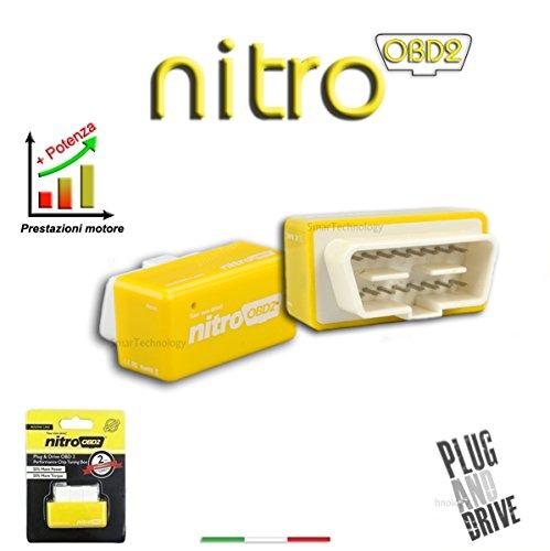 /25/% m/ás de par Nitro OBD2/Diesel Chip Tuning caja//remapear 35/% m/ás BHP/