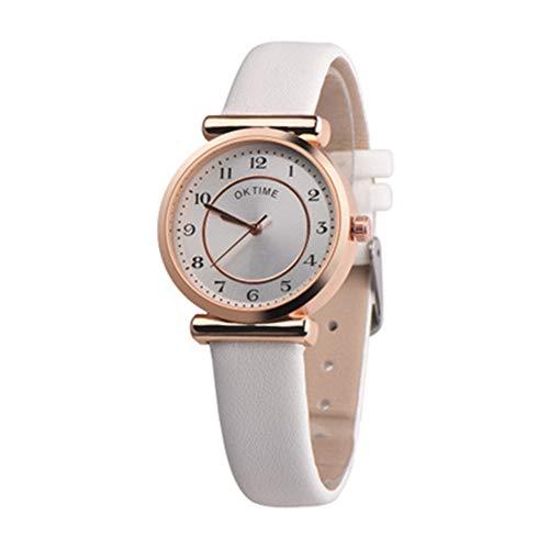 ZFLIN Sencillo Reloj Casual para Mujer Moda pequeño Fresco pequeño dial Compacto Mini Impermeable...