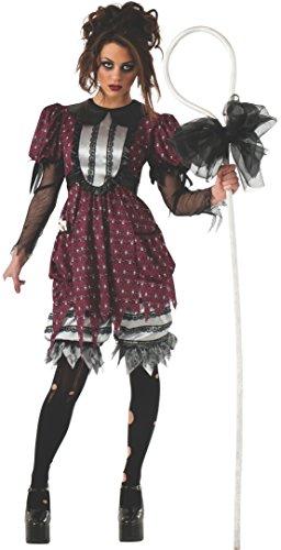 (Rubie's 810026Rubie 's Offizielles Little Bo Creep Peep Kinderlied Halloween Erwachsene Kostüm Damen Große)