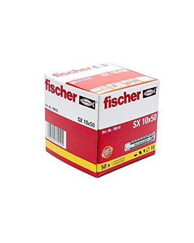 FISCHER 070010 - Taco nylon SX 10x50 (Envase de 50 ud.)