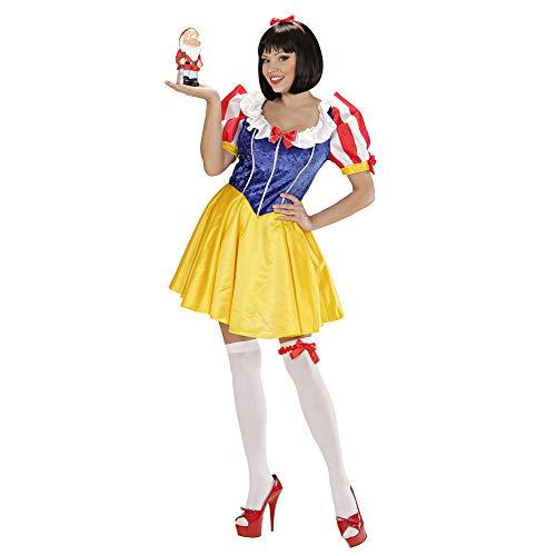 Widmann 36242 Erwachsenenkostüm Märchenprinzessin, Damen, Mehrfarbig, - Snow White Komplett Kostüm