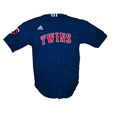 MLB Minnesota Twins Bildschirm Print Baseball Jersey Kleinkind/Kleinkind Jungen, Jungen, dunkles marineblau