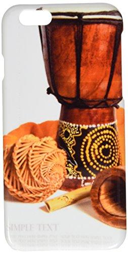Drum, Didgeridoo und Ethnic Musikinstrumente Isolierte auf Einem WH Handy Schutzhülle iPhone 6