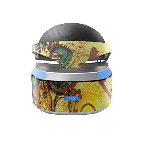 Skins4u Aufkleber Design Schutzfolie Vinyl Skin kompatibel mit Sony PS4 Playstation 4 VR Brille Twitter