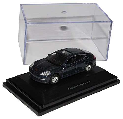 Preisvergleich Produktbild Porsche Panamera S Blau Grau Ab 2009 H0 1/87 Welly Modell Auto
