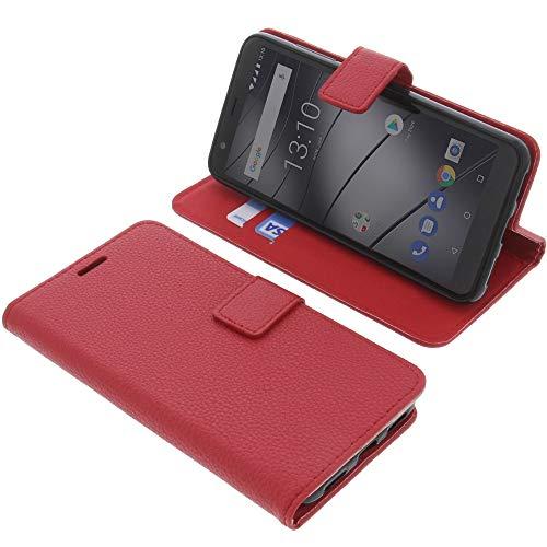 foto-kontor Tasche für Gigaset GS280 Book Style rot Schutz Hülle Buch