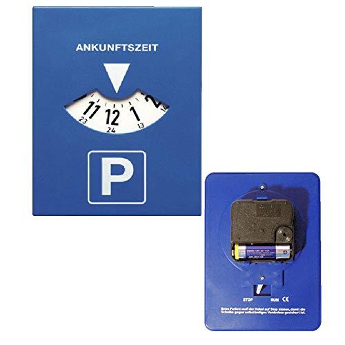 ebyreo® Parkuhr mitlaufend | Elektronische Parkscheibe mit Uhrwerk | (1)