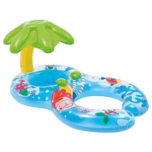 Kindersitz Schwimmring Sonnenschutz Wasser Pool Spielzeug Schweben ()