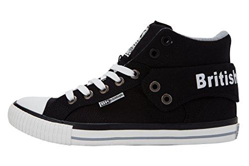 British Knights Roco - Herren Sneaker / High-Top-Schuh Noir
