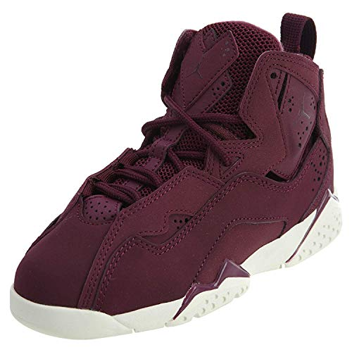 new arrivals f055e dfe7a Jordan True Flight BP Little Kids Shoes Bordeaux Bordeaux Sail 343796-625 (
