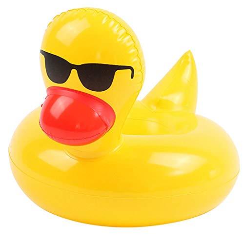 OGAWOO Aufblasbare Tisch Bar Tray Schwimmbad Float Cup Getränk Bier Halter Sommer Schwimmen Party Spielzeug Strand Zubehör, Sonnenbrille Ente