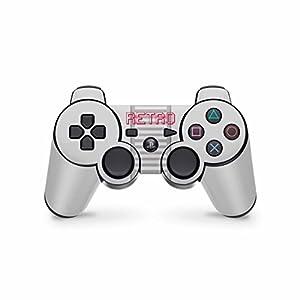 Skins4u Playstation 3 Controller Skin – Design Sticker Set für PS3 Gamepad – Retro