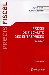 Précis de fiscalité des entreprises 2012-2013
