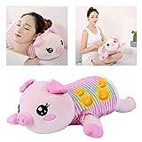 Gebärmutterhalskolrenz-Massager, Creative Pillow,4D Simulation Massage + Hot Pack + Overheat Protection, Automatic Timing, Silent Skin, Piggy
