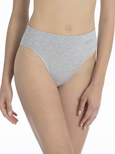 Calida Damen 22030 Slip, Grau (Stein meliert 096), 42 (Herstellergröße: S = 40/42)