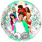 Givi Italia 61227 10 High School Musical Plates, Multi-Colour, 23 cm