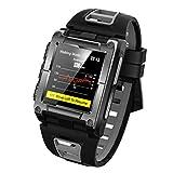 PSY watches Smart Watch Bluetooth-Verbindung Gesunder Sport GPS-Trainingsmodus Barometrische Anruferinnerung Informationen Weckfunktion Ip68 Wasserdichtes Schwimmen