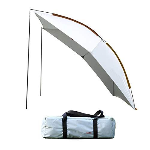 APENCHREN Outdoor-Auto-Markise/Camping-Pergola, großes Veranstaltungszelt, tragbarer Sonnenschutz mit Sonnenschutz - für Strand, Carport und Barbecue (320 x 230 x 220 cm / 10,4 x 7,5 x 7,2 ft),Grey