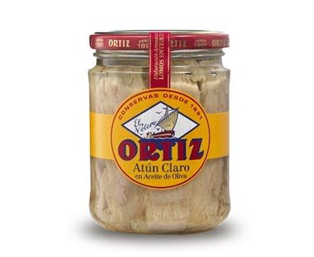 Tonno Pinna Gialla all'olio di oliva 400g Ortiz