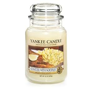 yankee candle schnitzel with noodles duftkerze gro 625 gramm kerze jar housewarmer. Black Bedroom Furniture Sets. Home Design Ideas