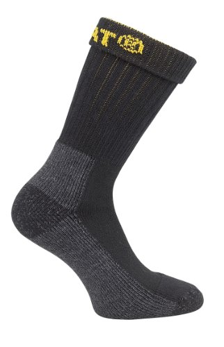 CAT Workwear Mens Workwear Industrial Heavy Duty 2 Pack Work Socks (2 Socks Work Pack)
