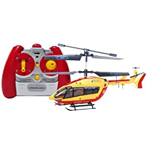Modelco - 43EC145 - Vehicule Miniature - Radio Commande - Hélicoptère Ec145 Infra Rouge - 3 Voies Av Gyro Prêt à Voler
