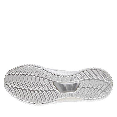 Adidas ClimaCool CW Damen Laufschuhe, Weiß–(Ftwbla/Ftwbla/plamet) weiß / hellgrau