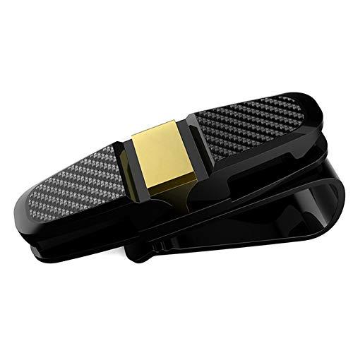 VCB Universal Design Auto Sonnenblende Organizer Auto Sonnenblende Clip - Gold