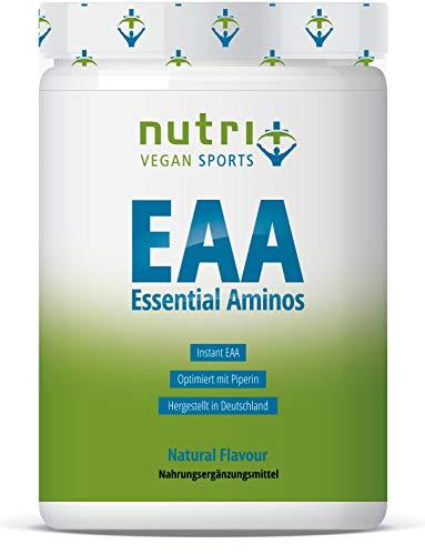 EAA PULVER NEUTRAL 500g | HÖCHSTE DOSIERUNG | Instant EAAs ohne Geschmack & Süßstoff | alle essentielle Aminosäuren | Vegan | Hergestellt in Deutschland | Essential Aminos -