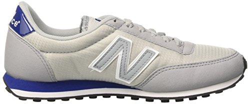New Balance 410 70s Running, Scarpe da Ginnastica Basse Unisex – Adulto Grigio (Light Grey)