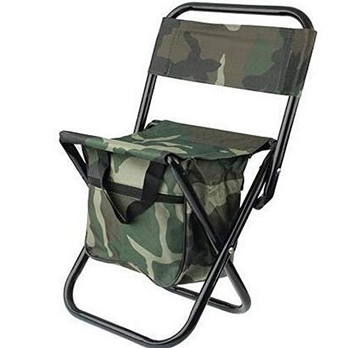 Pricekiller® - sedia portatile da campeggio pieghevole per pesca e caccia sgabello mimetico con facile trasporto