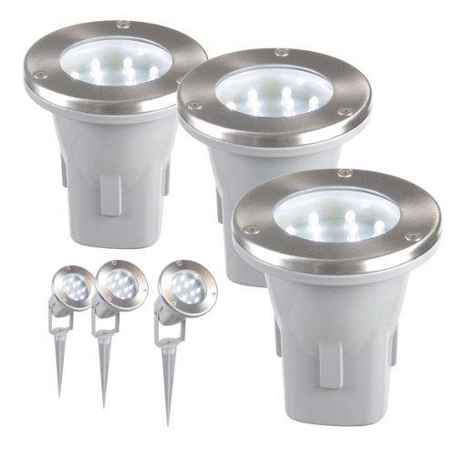 LED-Solar-Bodeneinbauleuchten LED-Solar Bodeneinbauleuchte