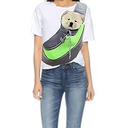 YFXOHAR Small Pet Dog Cat Kitty Carry Carrier Outdoor Travel Single Shoulder Bag Sling