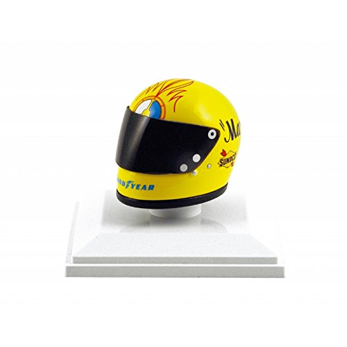 44389fd6755 TrueScale Miniatures 1 8 Scale 1973 Mark Donohue Penske Racing Helmet