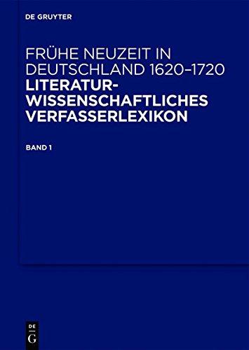 Frühe Neuzeit in Deutschland. 1620-1720 / Frühe Neuzeit in Deutschland. 1620-1720. Band 1