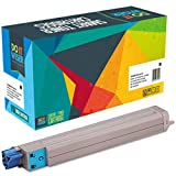 Do it Wiser Compatible Toner Cartridges Set Black Cyan Magenta Yellow For Xerox Phaser 7400 7400DN 7400DT 7400DX 7400DXF 7400N - 106R01080 106R01077 106R01078 106R01079 - Black High Yield 15 000 Pages and Color High Yield 18 000 Pages 4 Pack Cyan