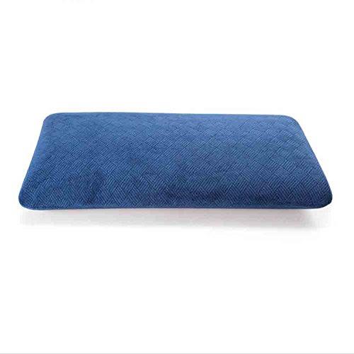 Sunny KOPFKISSEN Adult Memory Foam Kissen mit Abnehmbarer Waschbarer Hypoallergen Abdeckung vom Arzt Entworfen Für Hals, Rückenschmerzen Prävention und Entlastung (Farbe : Navy Blau)