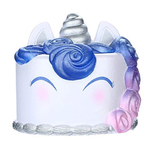 huichang Antistress Spielzeug, Slow Rising Kuchen Spielzeug für Kinder und Erwachsene (B)