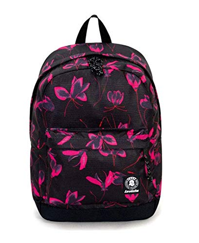 ZAINO INVICTA - CARLSON - Fiori - rosa - tasca porta pc padded - americano 27 LT