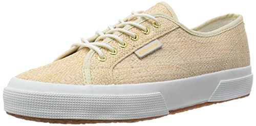 Superga 2750-Raffiau, Baskets mixte adulte Blanc