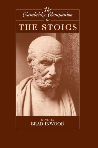 The Cambridge Companion to the Stoics (Cambridge Companions to Philosophy) (2003-05-05)