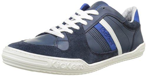 Kickers Jexprime, Baskets Basses Homme Bleu (Bleu Foncé)