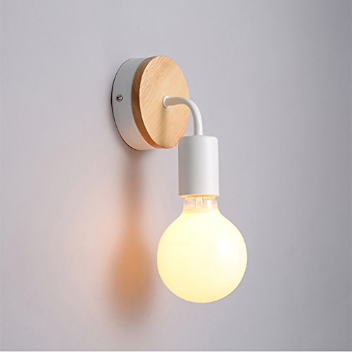 RFJJ Wandleuchte Schlafzimmer-Kopfteil-Wand beleuchtet Gang-Innenbeleuchtungs-einfache kreative...