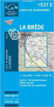 Carte de randonnée : La Brède