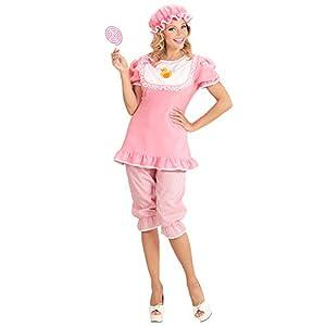 WIDMANN wdm98741?Disfraz bebé, rosa, Small