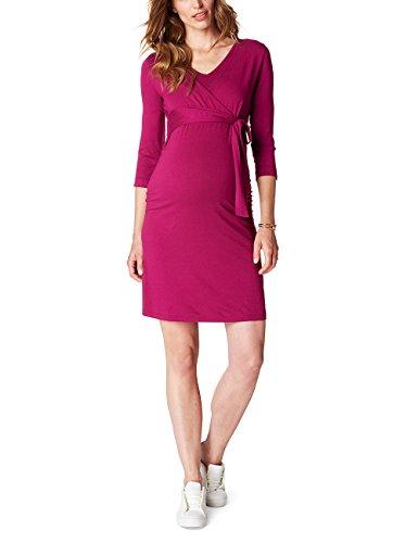esprit maternity kleid ESPRIT Maternity Damen Umstands Kleider Dress Nursing P84280, Rot (Pure Cherry 613), 42 (Herstellergröße:XL)