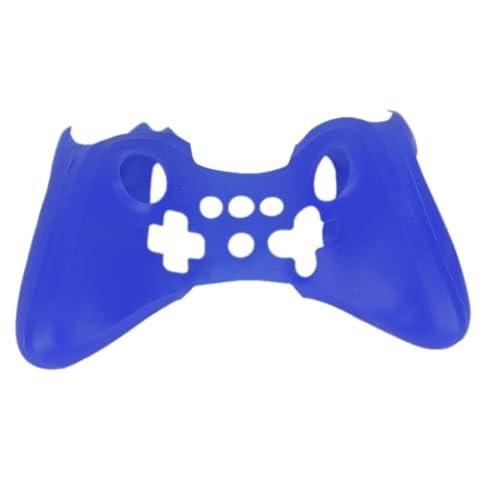 Etui Housse en Silicone de Protection Pour Nintendo Manette Wii U Bleu