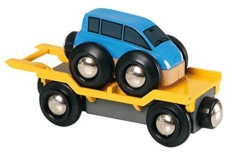 Brio 33577 - Autotransporter mit Rampe