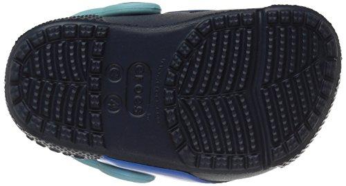Crocs Fun Lab Lights Clog K, Sabot Bambino Blu (Shark/Navy)