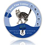 EXPAWLORER Collier étanche Anti-puces pour Chat et Chatons 8 Mois Protection Contre...